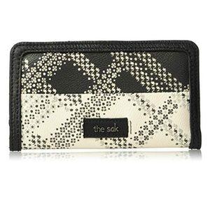 The Sak Iris Slim Plaid Bi-fold Wallet, NWT